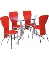 7002Y-Bürocci Masa Sandalye Takımı - Masa Grubu - Bürocci