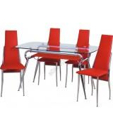 7001A-Bürocci Masa Sandalye Takımı - Masa Grubu - Bürocci